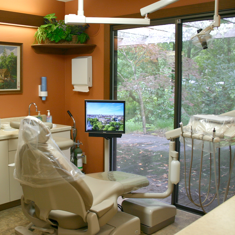 dental patient examining room